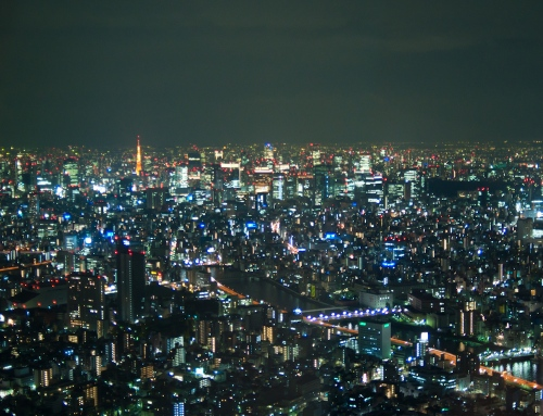 Night View from Sky Tree